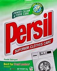 Persil Fibre Intelligent Low Suds Powder Detergent, Regular, 5kg