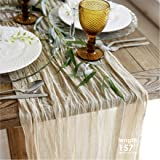 Gauze table runner bulk - Cheesecloth table cloth - Holiday table runner for wedding - Rustic table runner 160 in - Boho chic