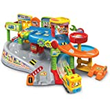 VTech Toot-Toot Drivers Garage, Kids Toy Garage with Music, Fun Phrases and Sounds, Baby Musical Car Track Toy for Boys and G