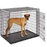 MidWest Homes for Pets XXL Giant Dog Crate | 54-Inch Long Ginormous Double Door Dog Crate Ideal for a Great Dane, Mastiff, St