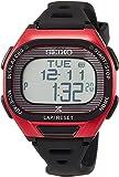 [セイコーウォッチ] 腕時計 プロスペックス Super Runners ソーラー 薄型ランナーズ デジタル ソフトポリウレタンバンド SBEF047 ブラック