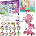 B Me Pendant Jewelry Designer - Jewelry Kit for Bracelet and Necklace Making – Jewelry Craft Gift Set for Girls - Kids' Jewel