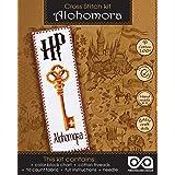 Cross Stitching Kit Harry Potter Alohomora - DIY Bookmark Sewing Kit