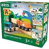 BRIO 33878 Starter Lift & Load Set A, 19 Pieces Train Set, Multi, 19 Pieces