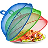 Metal Mesh Screen Food Cover Tent Umbrella, 10.75 inch, Reusable Outdoor Picnic Food Covers Mesh, Food Cover Net Keep Out Fli