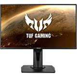 "ASUS TUF Gaming VG259QM 24.5"" Monitor, 1080P Full HD (1920 x 1080), Fast IPS, 280Hz, G-SYNC Compatible, Extreme Low Motion Bl"
