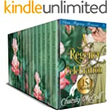 A Regency Celebration - Regency Romance Boxset: 15 Clean Regency Romance Books