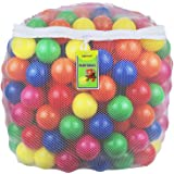 Click N' Play Pack of 100 Phthalate Free BPA Free Crush Proof Plastic Ball, Pit Balls - 6 Bright Colors in Reusable and Durab