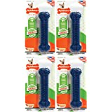 Nylabone 4 Pack of Moderate Chew Dental Chew Toys, Regular, Chicken Flavor, Made in The USA for Dogs Up to 25 Pounds