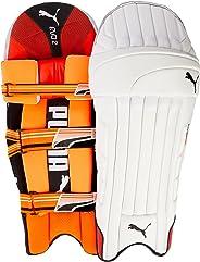 Puma, Cricket, Evo 2 Batting Pad, Fiery Coral/White, Medium, Right Hand