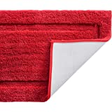 TOMORO Microfiber Non-Slip Bathroom Rug – Extra Absorbent and Quick Dry, Soft Luxury Hotel Door Carpet Shower Bath Mat Waterp