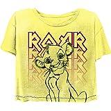 Disney Ladies Lion King Fashion Shirt - Ladies Classic Hakuna Matata Clothing Lion King Crop Top Tee