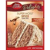 Betty Crocker Super Moist Cake Mix Spice 15.25 oz Box (pack of 6)