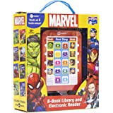 Marvel Super Heroes Spider-man, Avengers, Guardians, and More! - Me Reader Electronic Reader with 8 Book Library - PI Kids