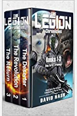 The Legion Chronicles Trilogy: How a Marine saved the Earth three times and got punished for it Kindle Edition