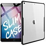 TineeOwl iPad 9.7 (2018/2017 Version) Ultra Slim Clear Case, Flexible TPU, Absorbs Shock, Lightweight, Thin black Black