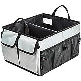 Amazonベーシック 収納ケース トランク用 折りたたみ式 乗用車 SUV トラック用 グレー