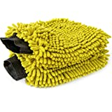 DOCAZOO DocaPole Car Wash Mitt - 2 Pack - Premium Chennille Microfiber Car Wash Mitts - Rewashable Cleaning and Dusting Glove