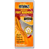 HotHands Insole Foot Warmers with Adhesive - Long Lasting Safe Natural Odorless Air Activated Warmers - Up to 9 Hours of Heat