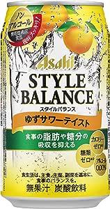 アサヒ スタイルバランス ゆずサワーテイスト 缶 350ml