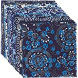 Aitoh YW-622 Aizome Chiyogami Origami Paper, 4-Feet by 4-Inch, 20-Pack