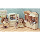 Sylvanian Families 5341 Kitchen Play Set Accessories