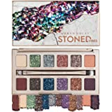Urban Decay Stoned Vibes Eyeshadow Palette, 12 Shimmer + Matte Shades - Super-Creamy Vegan Formula with Tourmaline Crystal -