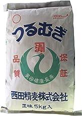 西田精麦 押麦(つるむぎ) 5kg