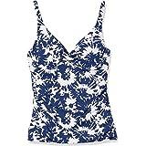 Catalina Women's Twist Front Underwire Tankini Swimsuit
