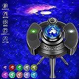 LBELL「2021新登場&超静音設計」プラネタリウム スタープロジェクター 360°-三脚 Bluetooth/USBメモリに対応 14点灯モード 星空ライト [30min][60min][90min]タイマー機能付き 投影角度/輝度調整可 ロマン