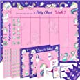 Potty Training Chart for Toddlers - Unicorn Design - Sticker Chart, 4 Week Reward Chart, Certificate, Instruction Booklet and