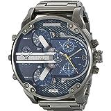 Diesel Men's DZ7331 Mr Daddy 2.0 Gunmetal-Tone Stainless Steel Watch
