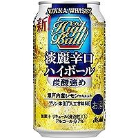 ニッカ淡麗辛口ハイボール缶 [ ウイスキー 日本 350ml×24本 ]