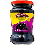 Borges Pitted Black Olives, 285g