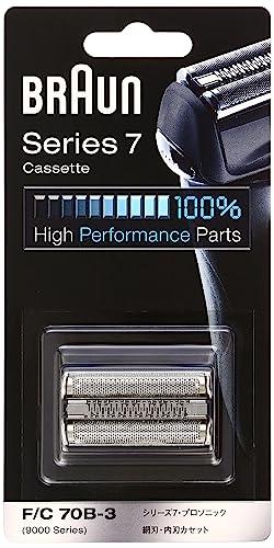 正規品】 ブラウン シェーバー シリーズ7 網刃・内刃一体型カセット ブラック F/C70B-3