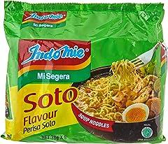 Indomie Soup Noodles, Soto Flavour, 78g (Pack of 5)