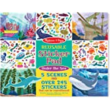Melissa & Doug 30500 Reusable Sticker Activity Pad - Under The Sea Toy