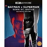 Batman V Superman: Dawn Of Justice Remastered [4K Ultra HD] [Blu-ray] [2016] [Region Free]