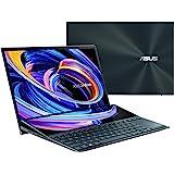 "ZenBook Duo Dual Screen Laptop, 14"" FHD Touch Display, ScreenPad Plus, Intel Core i5-1135G7 Processor, 8GB LPDDRX RAM, 512GB"