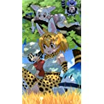 けものフレンズ iPhoneSE/5s/5c/5(640×1136)壁紙 サーバル,かばんちゃん,ラッキービースト , フェネック, アライさん