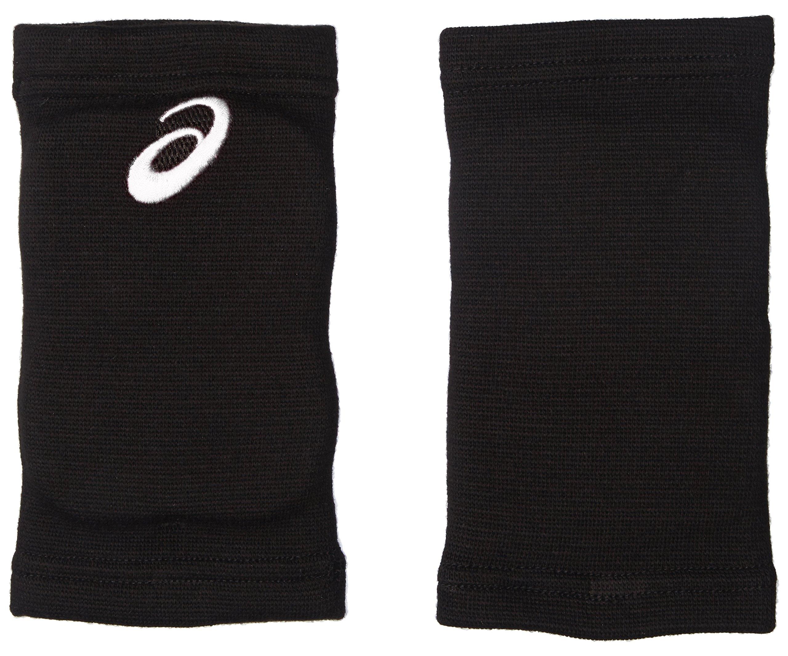 アシックス バレーボールサポーター ひじサポーター 2個入 XWP079 ボーイズ ブラック/ホワイト 日本 OS Free サイズ