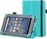 Amazonベーシック Kindle Fire スタンディングケース 7インチ (2015年モデル) ターコイズ