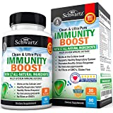 Immunity Boost Supplement with Elderberry, Vitamin C, Echinacea & Zinc - Once Daily Multi-System Immune Defense - Promotes He