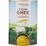 Patanjali Cow Ghee, 905g (Tin Packaging)