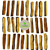 30 STICKS. Palo Santo Smudging Bulk Lot Sticks, High Resin Palo Santo, Holy Wood. Premium Certified Authentic, Wild Harvested