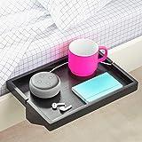 BedShelfie The Original Bedside Shelf - 9 Colors / 2 Sizes - AS SEEN ON Business Insider (Regular Size, Black in Bamboo)