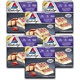Atkins Endulge Treat Strawberry Cheesecake Dessert Bar. Rich and Creamy Dessert Favorites. Keto-Friendly. (30 Bars)