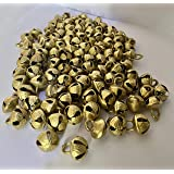 Loose kathak Ghungroo Anklets/Ghungru Bells (50pcs) Loose Brass Bells/Beads for Kathak Indian Classical Dance, Music Classes