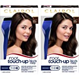 Clairol Nice 'n Easy Root Touch-Up 4 Matches Dark Brown Shades 1 Kit, (Pack of 2)