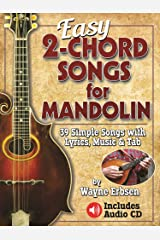 Easy 2-Chord Songs for Mandolin Spiral-bound